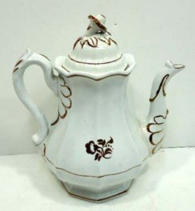 Tealeaf Ironstone Coffee Pot