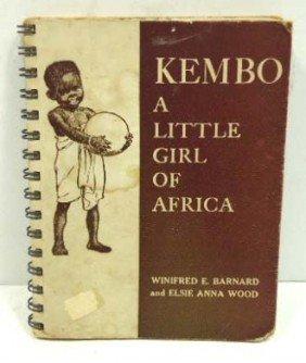 1928 Kembo Little Girl Of Africa Book