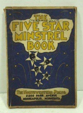 1938 Five Star Black Minstrel Book