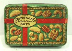 Peterson Nut Tin