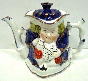 Staffordshire Tea Pot