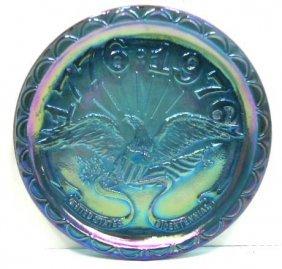 Carnival Glass Plate