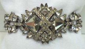 Stunning Vtg. Rhin. Bracelet
