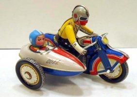 Keywind Tin Motorcycle