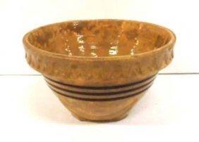 Small Yellow Ware Bowl
