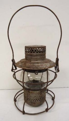 Pennslyvanial Railroad Lantern