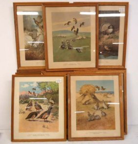 11 Lynn Bogue Hunt Prints Lot 164e
