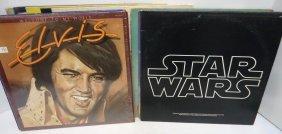 9- Elvis & 2- Star Wars Albums