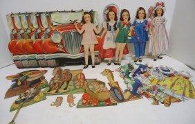 Dionne Quintuplets Paper Dolls & Accessories