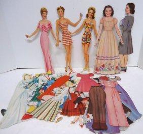 Ann Southern & Judy Garland Paper Dolls