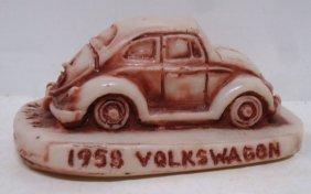 Georgia Marble Volkswagen Paperweight