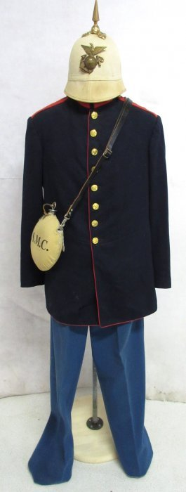 1902 Usmc Uniform W/ Spike Helmet