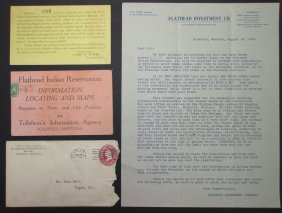 1909 Flathead Indian Reservation Land Lottery