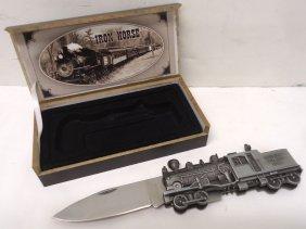 Iron Horse Folding Knife Nid