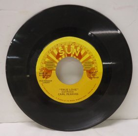 Carl Perkins Sun Record 45rpm