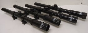4 N.o.s. Daisy Bb Gun Rifle Scopes