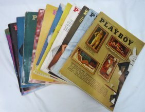 1967 Playboy 12 Issues