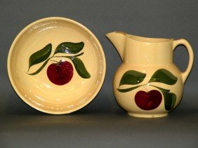 Watt Pitcher & Serving Bowl