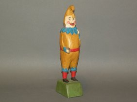 Strawser Circus Figure Carving