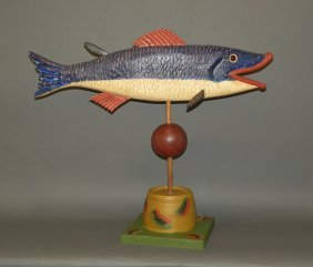 Gottshall Fish Carving