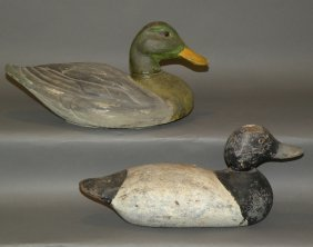 2 Duck Decoys