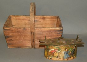 Scandinavian Band Box & Gathering Basket