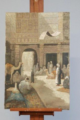 ARABIAN OIL PAINTING