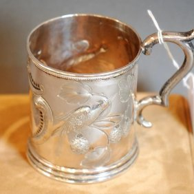 American Coin Silver Child's Mug C1857