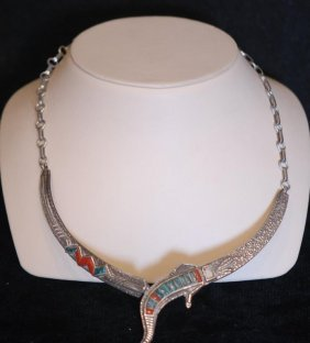 Native American Indian S.s. Necklace