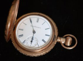 Antique Seth Thomas Closed Face Pocket Watch