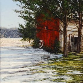 """""""Spring Thaw"""", Del-Bourree Bach,"""