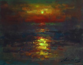 """Sea Sunset"", Christopher Zhang,"