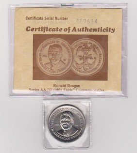Ronald Reagan Double Eagle Coin