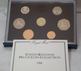 1988 Ubited Kingdon Proof Coin Set