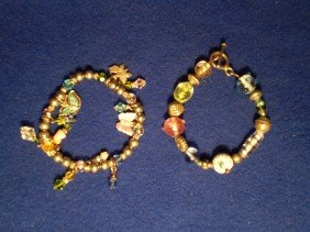 2 Nice Beaded Bracelets