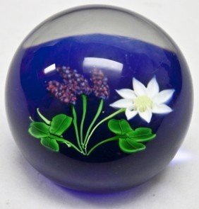 Finely Formed Rare Scottish Art Glass Paperweight