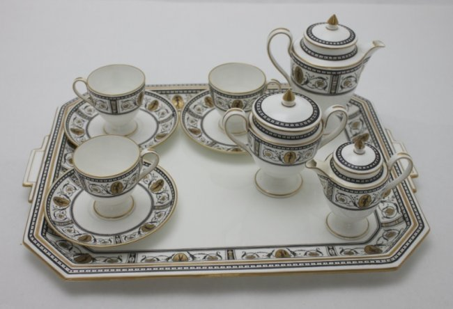 Wedgewood tea service platter neoclassical design lot 110 Wedgewood designs