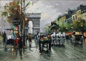 Antoine Blanchard (french 1910-88) Arc De Triomphe