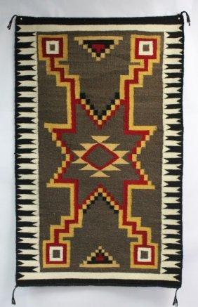 Vintage Native American Navajo Indian Woven Rug