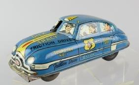 Marx Tin Dick Tracy Car W G-Man Gun