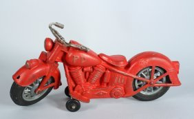 Hubley Large Diecast Motorcyle
