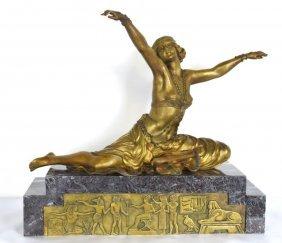 Clair Colinet (1880-1950) Bronze Figure
