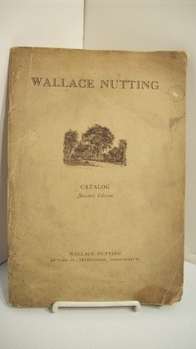 WALLACE NUTTING 1928 'FURNITURE CATALOG'