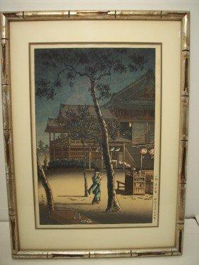 Tsuchiya Koitsu Woodblock 'Ueno Kiyomizu-Do'