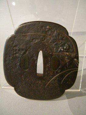 Early Japanese Bronze Tsuba