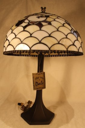 Dale Tiffany Stained Glass Table Lamp
