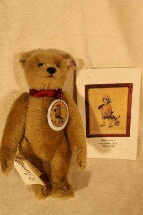Steiff Bear Commemorates Marguerite Steiff