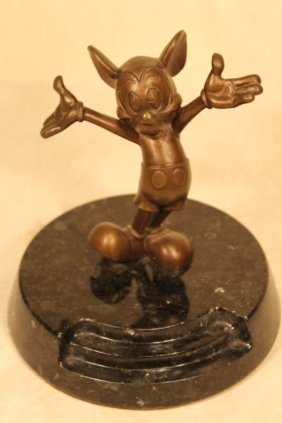 Bronze Mickey Mouse Open Arms