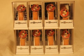 Lot Of 8 Walt Disney World Mickey Watches