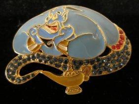 Genie Swarovski Austrian Crytals Brooch Pin